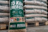 Bio-Energy witte pellets 15Kg zak_