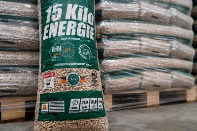 Bio-Energy witte pellets 15Kg zak